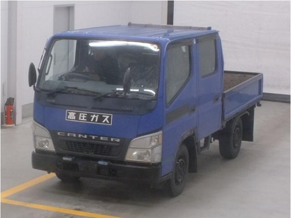 MITSUBISHI CANTER Double Cab Dropside 4 Wheeler